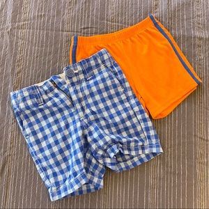 Boys 18 month shorts lot